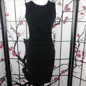 Rachel Roy LBD Bandage Dress Bodycon Stretch Black